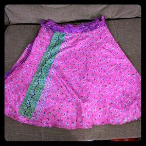 Dresses & Skirts - Reversible wrap skirt
